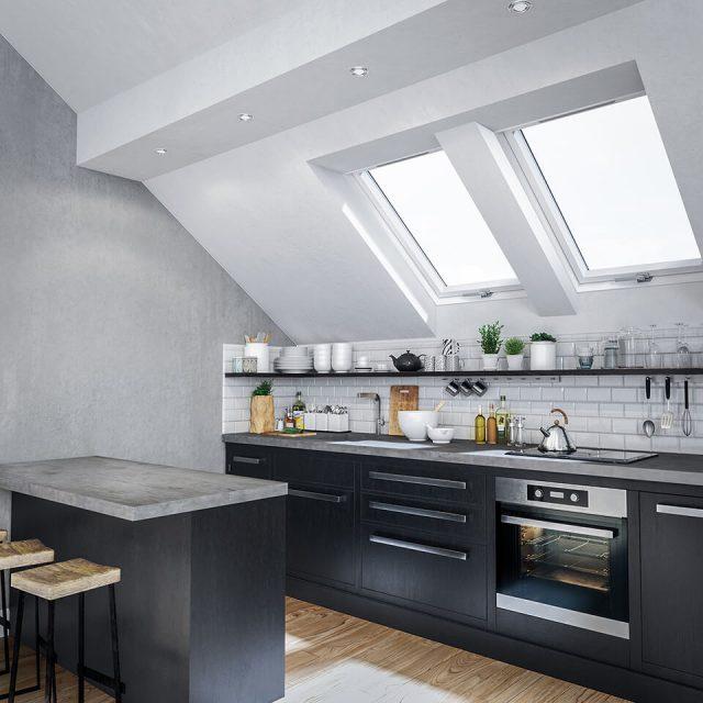 Ultima Energy - okna dachowe z technologią redukcji hałasu