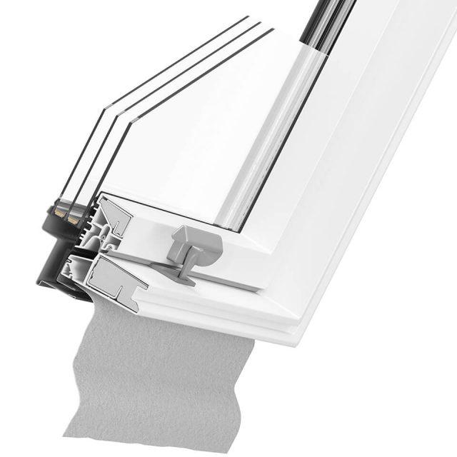 Better Safe PVC - bezpieczne okna dachowe PVC