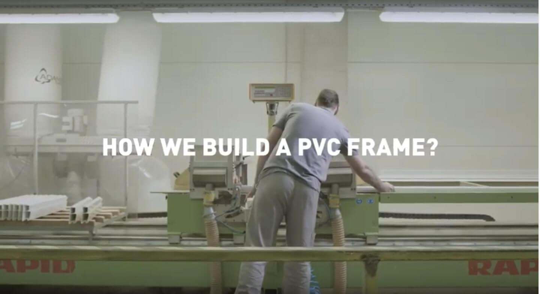 How we build a pvc frame?