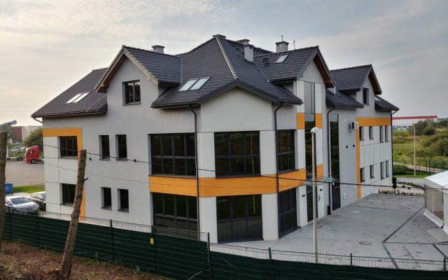 Pokrycie dachu - budynek użytkowy