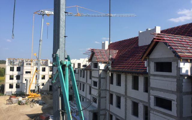 Widok z dachu budynku