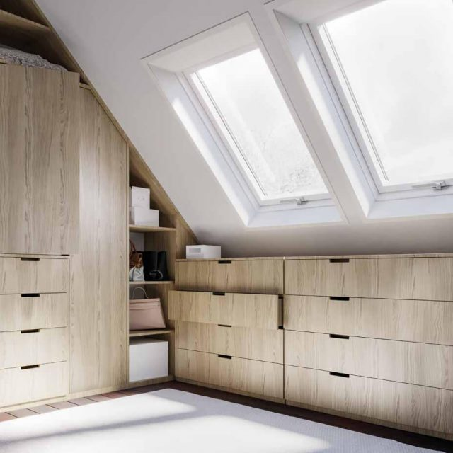 Better Safe roof window interior design