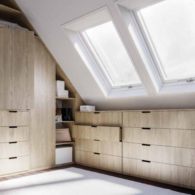 Better Safe roof window interior design