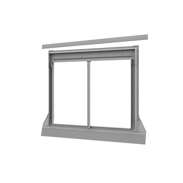 Combi Twin Flashing window