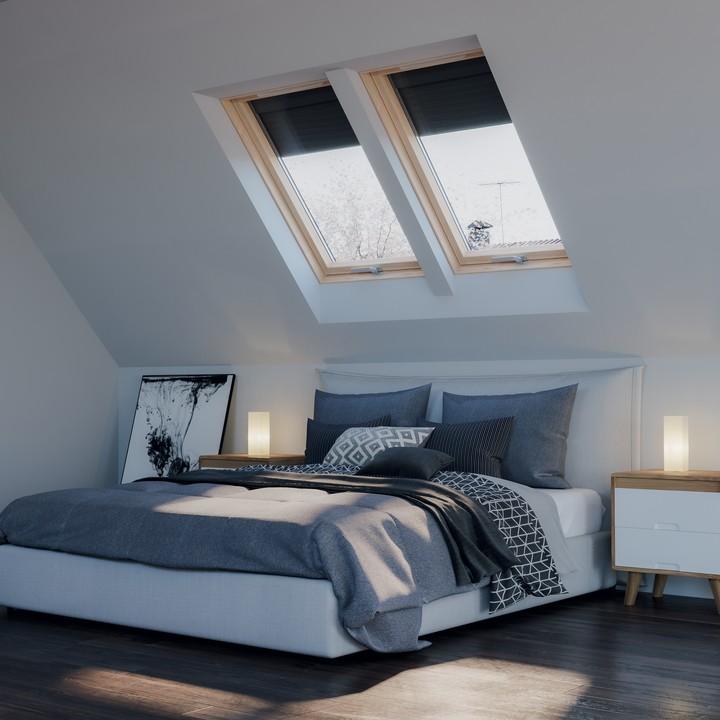jak zamontować większą ilość okien dachowych