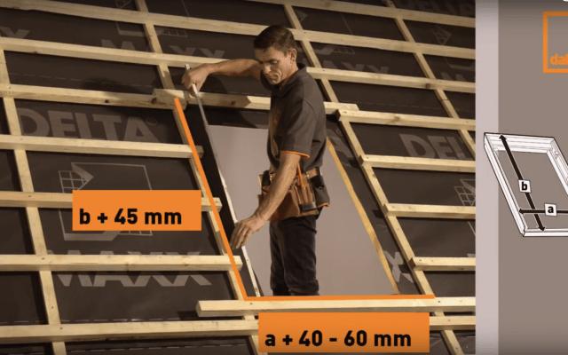 rozmiar okna dachowego