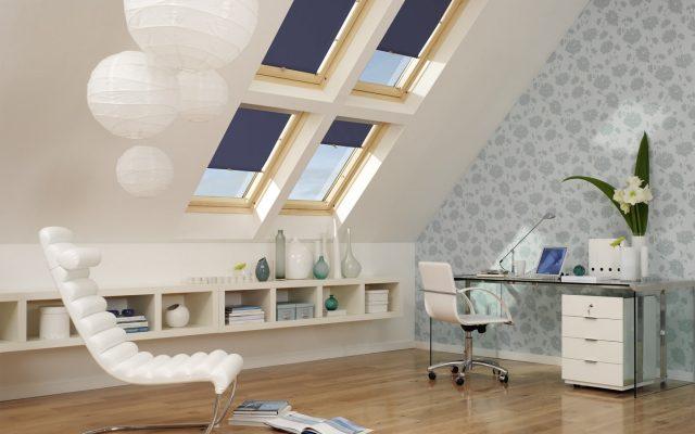 rozmieszczenie okien dachowych