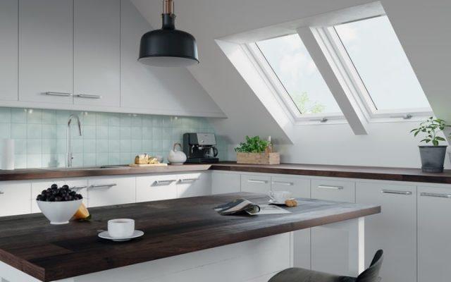 dachowe okna do kuchni