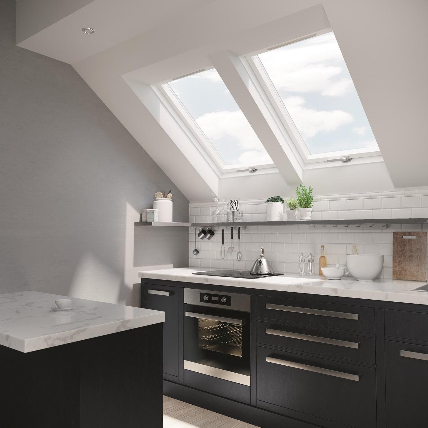 okna dachowe do kuchni